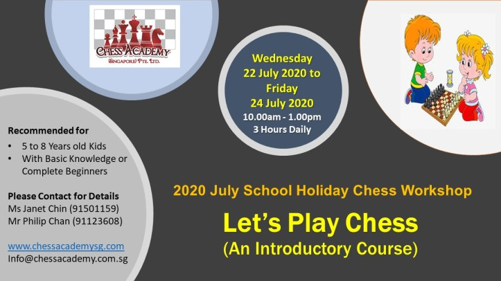 2020 July Workshop Lets Play Chess
